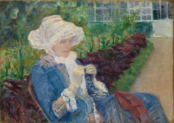 Cassatt, Lydia Crocheting