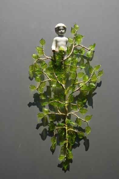 Penzo+Fiore, Botanica Alchemica elemento 18, vetro di Murano e oggetto ready made, 2018