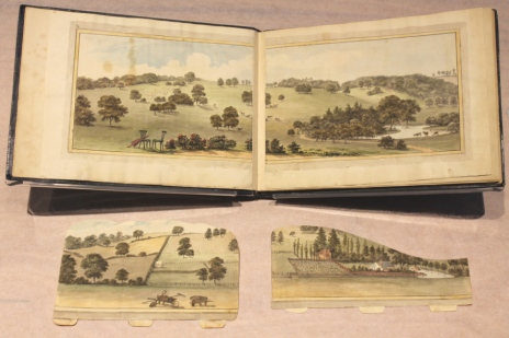 Humphry Repton_ Sundridge Park Red Book 1793, with kind permission of City and Country_Book with inserts