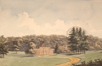 Humphry Repton_ Sundridge Park Red Book 1793, with kind permission of City and Country_Sundridge - Before