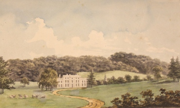 Humphry Repton_ Sundridge Park Red Book 1793, with kind permission of City and Country_Sundrige - After