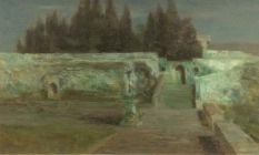Beppe Ciardi_Plenilunio_Fondazione_Musei Civici di Venezia, Galleria Internazionale d'Arte Moderna di Ca'Pesaro