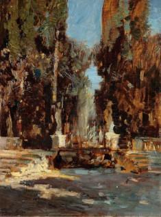 Emma Ciardi_La fonte dei cipressi_Courtesy Galleria Nuova Arcadia di L. Franchi