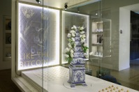 Tulip Vase on exhibition ©Royal Delft