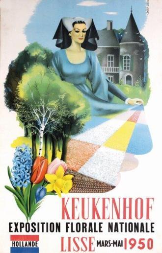 Poster 1950 ©Keukenhof