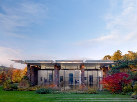 The Fondation Beyeler, designed by Renzo Piano ©Mark Niedermann