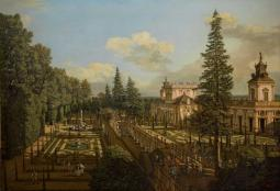 Bernardo Bellotto, View of the Wilanów Gardens Warsaw ©The Royal Castle – Museum