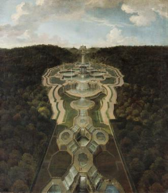 Jan Van Nickelen, View of the Garden below Karlsberg Kassel ©Museumslandschaft Hessen Kassel, Gemäldegalerie Alte Meister