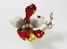 Orchid brooch ©Palazzo Coronini Cronberg Foundation.