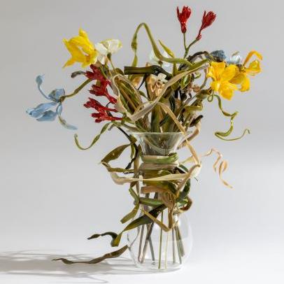 Lilla Tabasso exhibition venice glass flower art