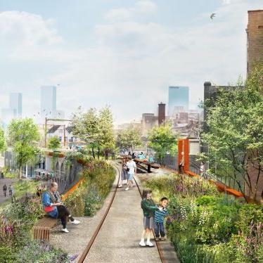 Hofbogen roof park project Rotterdam The Netherlands